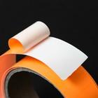 Фотолюминесцентная самоклеящаяся лента TORSO, 3х100 см, оранжевое свечение