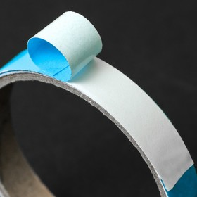 Photoluminescent self-adhesive safety tape 1.5h100 cm, blue glow