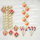 """Набор для оформления праздника """"Для принцессы"""", Принцессы, 45 предметов - фото 951211"""