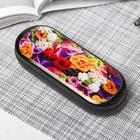 Футляр для очков «Разноцветье», отдел на клапане, цвет МИКС