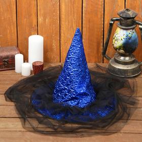 "Carnival hat ""Night,"" R-R 56-58 cm"