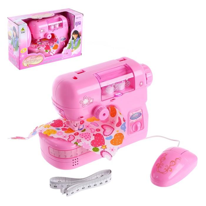 Бытовая техника швейная машина «Для принцессы», лапка двигается
