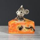 """Копилка """"Мыша с сыром"""", 20 см"""