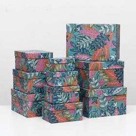 "1 box 10B ""Tropical"", 35.5 x 25 x 16 -13 x 8 x 7 cm"