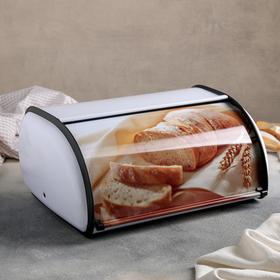 Хлебница металлическая «Домашний хлеб», малая