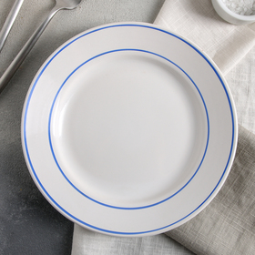 "Тарелка 20 см ""Синий овал"""