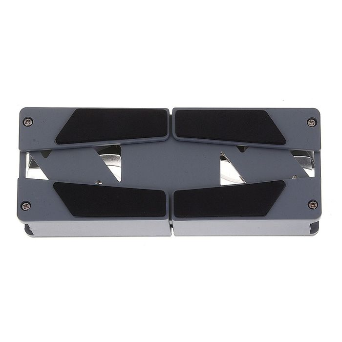 Охлаждающая подставка для ноутбука складная, 2 кулера, 17х7 см, USB
