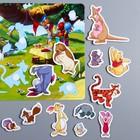 Развивающая игра на липучках, конструктор «Веселые липучки», Медвежонок Винни и его друзья - фото 105528775