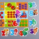 Развивающая игра на липучках, конструктор «Веселые липучки. Изучаем счет», ФИКСИКИ - фото 76137714