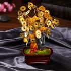 "Souvenir ""bonsai Money tree"" 63 coins 19х16х8,2 cm"