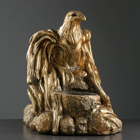 """Фигура с кашпо """"Орел большой"""" бронза, 60×48×60 см"""