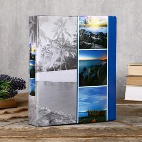 """Fotografia photo album for 200 photos 10x15 cm, """"seascape"""" FA-PP200 - 107"""