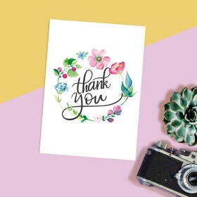 "Card every day ""Thank you"" to 7.5 × 10.5 cm"