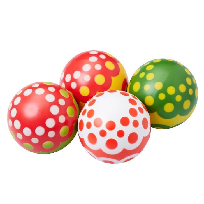 Мяч, диаметр 20 см, цвета МИКС