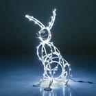 Светящаяся фигура Зайчик 57-626 W