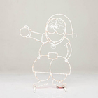 Светящаяся фигура Санта-Клаус 57-638