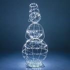 Светящаяся фигура Снеговик большой 57-628