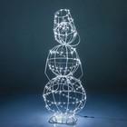 Светящаяся фигура Снеговик малый 57-625