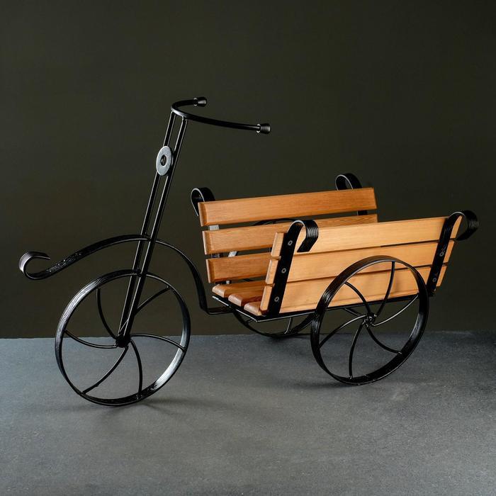 Подставка Велосипед 59-342 с деревом - фото 830067