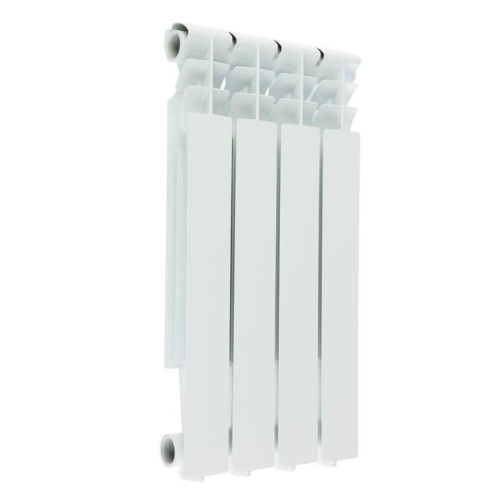 УЦЕНКА Радиатор алюминиевый Oasis, 500 х 70 мм, 4 секции
