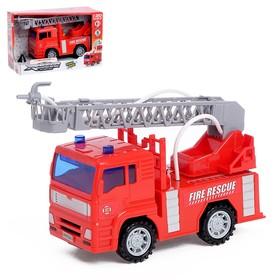 Машина инерционная «Пожарная», стреляет водой, 1:20