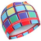 Комплект для плавания детский (купальник+шапочка), размер 32, рост 122 см - фото 105467433