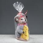 """Копилка декор """"Мышка с сыром"""", 20 см, микс"""