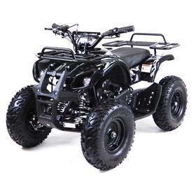 Квадроцикл детский бензиновый MOTAX ATV Х-16 Big Wheel с механическим стартером, черный Ош