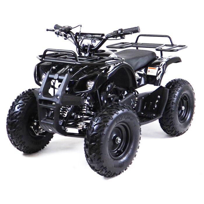 Квадроцикл детский бензиновый MOTAX ATV Х-16 Big Wheel с механическим стартером, черный
