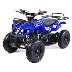 Квадроцикл детский бензиновый MOTAX ATV Х-16 Big Wheel с механическим стартером, синий