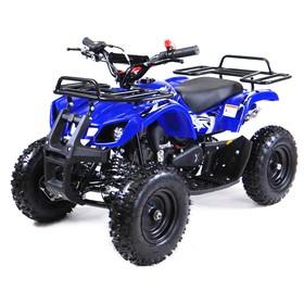 Квадроцикл детский бензиновый MOTAX ATV Х-16 Big Wheel с механическим стартером, синий Ош
