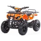 Квадроцикл детский бензиновый MOTAX ATV Х-16 Big Wheel с механическим стартером, оранжевый