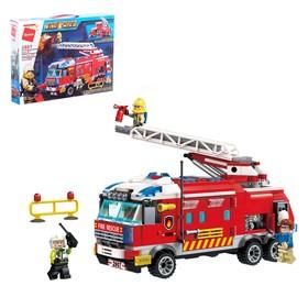 Конструктор «Пожарная машина», 3 минифигуры, 366 деталей