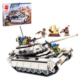 Конструктор Миротворцы «Боевой танк», 4 минифигуры, 430 деталей