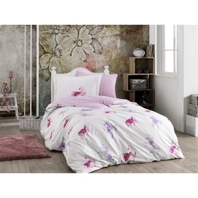 КПБ Mia 1,5 сп, размер 160×240 см, 160×220 см, 70×70 см, 50×70 см, розовый