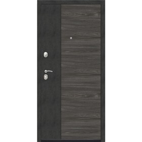 Дверь входная 9,5 см Орландо Дуб винтаж белый 2050x960 (правая)