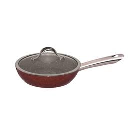 Сковорода- вок 28 см, с мраморным покрытием