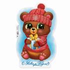 Bear with gift 246х395