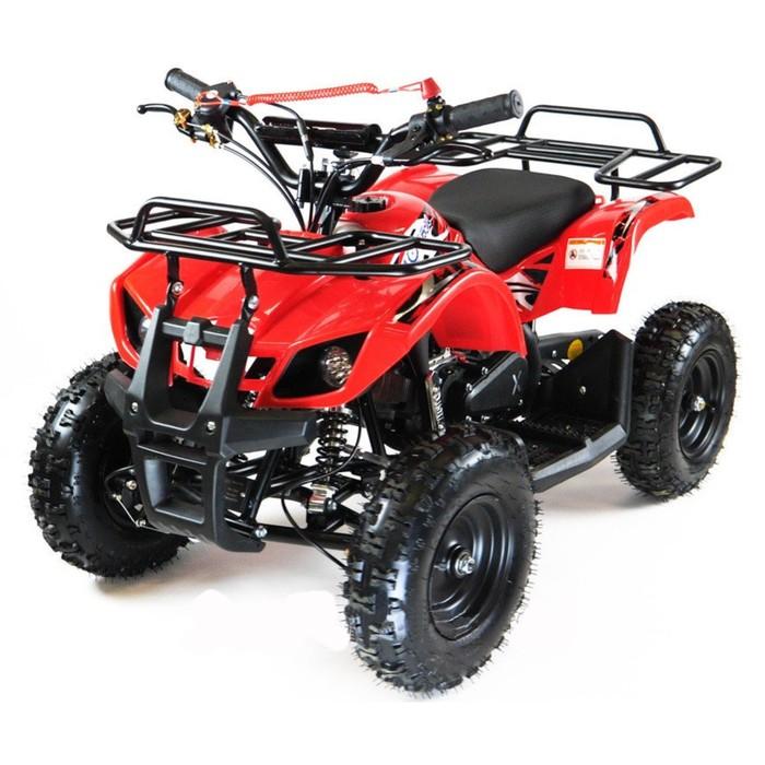 Квадроцикл детский бензиновый MOTAX ATV Х-16 с электростарт. и родительским пультом,красный   449347