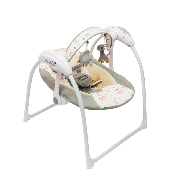 Электронные качели Amarobaby Swinging Baby, цвет GRAY