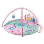 Развивающий коврик для детей Amarobaby «Медведь», размер 95 x 95 x 45  см, цвет розовый