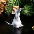 """Souvenir Polyresin miniature """"mouse with a seed"""""""