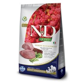 Сухой корм Farmina N&D Dog беззерновой для собак, ягнёнок/киноа, для контроля веса, 800 г