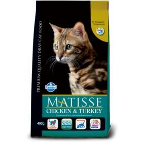 Сухой корм Farmina Matisse для кошек, курица/индейка, 10 кг