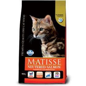 Сухой корм Farmina Matisse для стерилизованных кошек, лосось, 10 кг