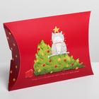 Коробка сборная фигурная «С новым годом!», 19 × 14 × 4 см