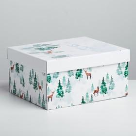 Складная коробка «Лесная сказка», 31,2 × 25,6 × 16,1 см