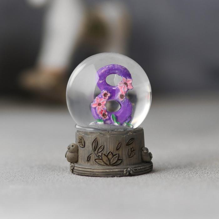 Сувенир настольный «Восьмое марта»,  6,5х5см - фото 798247932