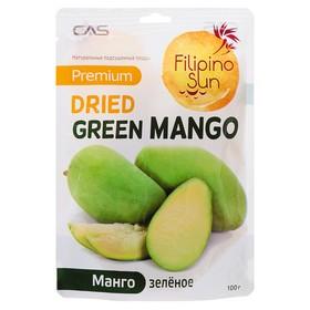 Плоды ЗЕЛЕНОГО МАНГО сушеные 100 г/25/100, TM Filipino Sun