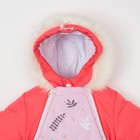 """Комбинезон-трансформер Крошка Я """"Лисички"""", розовый, р.26, рост 74-80 см - фото 105564377"""